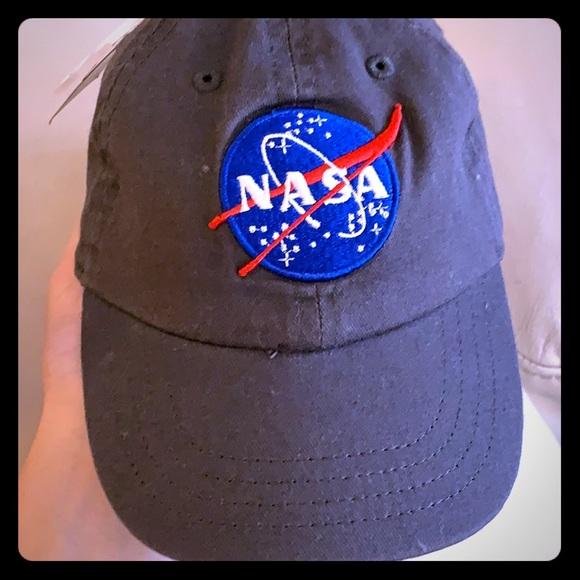9b3b807ef Kids NASA baseball cap hat